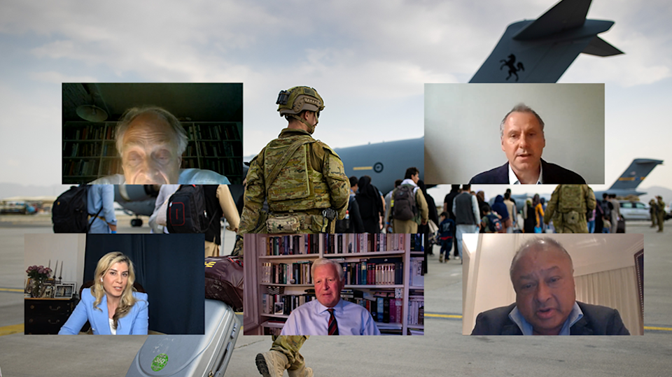 The Independent's virtual panel event held on the current ongoing situation in Afghanistan  (The Independent )