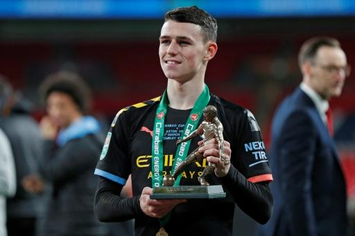 Phil Foden won man-of-the-match in Manchester City's 2-1 League Cup final win over Aston Villa