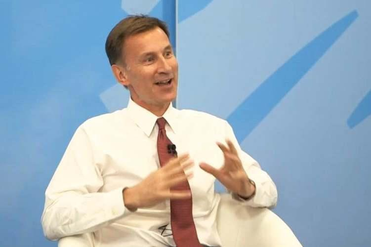 Jeremy Hunt has pledged to maintain free television licences for the over-75s. (PA)