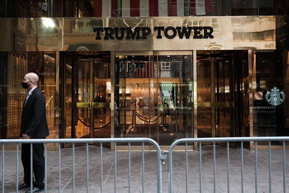 <p>Trump Tower in New York City</p> (Getty Images)
