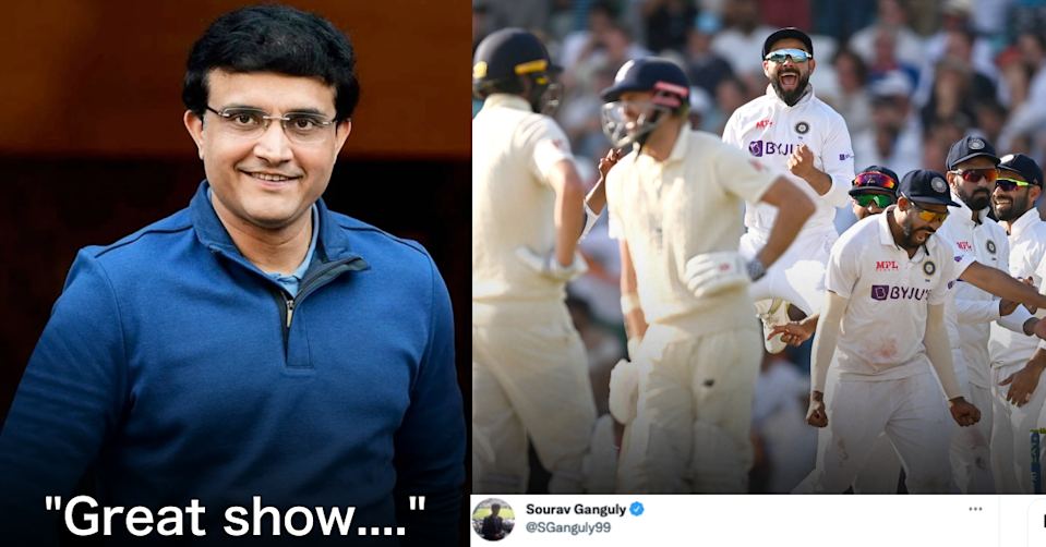 BCCI President Sourav Ganguly Reacts To India's Victory At The Oval