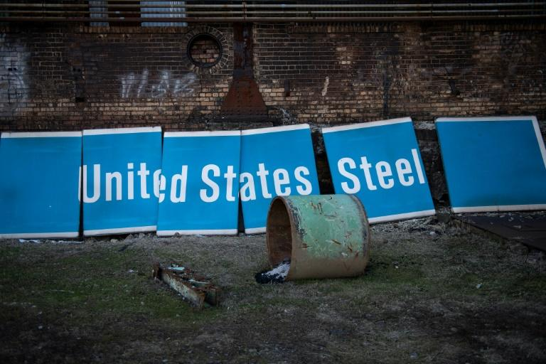 The abandoned Homestead Steel Works in Swissvale, Pennsylvania is being converted for public use after being designated as a historical landmark (AFP Photo/Brendan Smialowski)