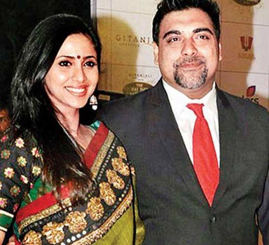 <p>One the most romantic and ideal couples of small-screen, Ram and Gautami met while working on the TV show, Ghar-Ek Mandir. They got married after years of togetherness on February 14, 2003. The couple still looks very much in love every time they make an appearance together. </p>