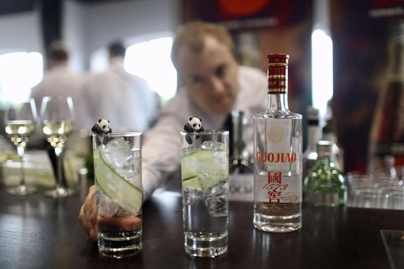 Guojiao 1573 and Customized Cocktail Are Served at the Luxury World Cup Match Pavilions
