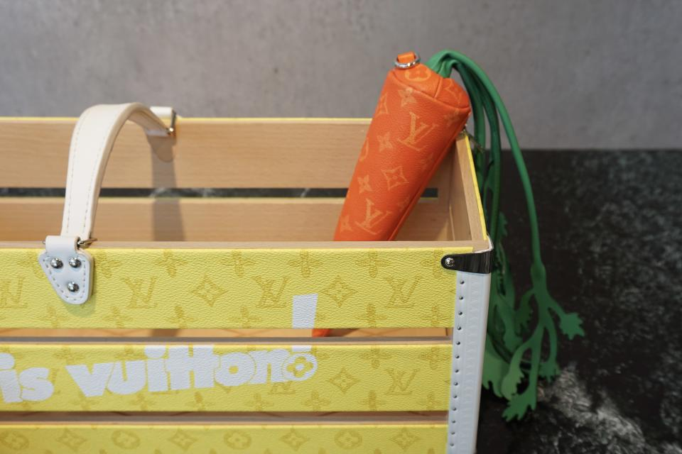The carrot pouch. - Credit: Kristine Kwak