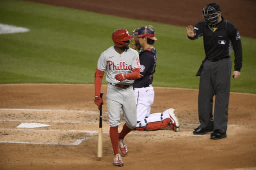 Girardi, Quinn ejected from Phils' game vs Nationals