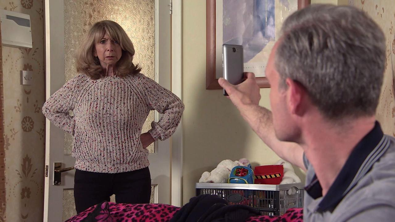 <p>He explains that he has discovered he has a son from his relationship with Natasha.</p>