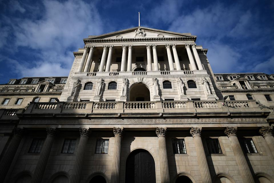 Bank of England's quarterly monetary policy report should show better growth and higher inflation ahead as the vaccine rollout programme continues in Britain, and allows the economy to reopen as planned. Photo: Ben Stansall/AFP via Getty Images