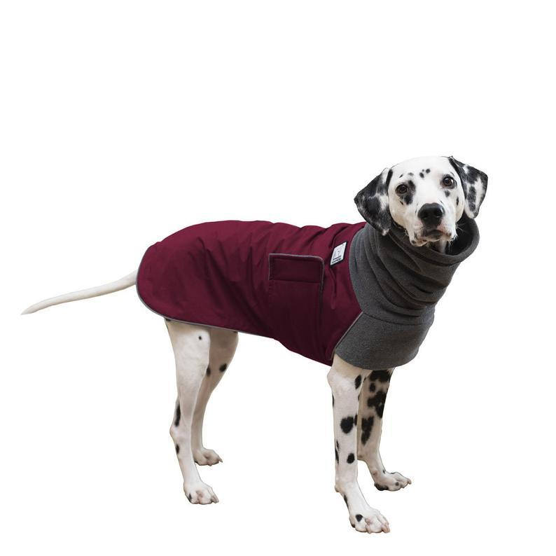 Voyagers K9 Apparel Winter Dog Coat - available on Etsy.