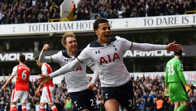 <p>Spurs' Dele Alli truly is a player with the world at his feet. Joining from his boyhood club Milton Keynes in 2015, Alli won the PFA Young Player of the Year award in his first season with the north London side.</p> <br><p>Alli is now one of the first names on the England team sheet, and excelled for his club last season, scoring 18 league goals from midfield.</p> <br><p>A natural number ten, blessed with pace, creativity and finishing ability, the young midfielder is clearly destined for a long and successful footballing career.</p>