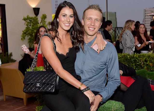 """<a class=""""link rapid-noclick-resp"""" href=""""/nfl/players/25798/"""" data-ylk=""""slk:Nick Foles"""">Nick Foles</a> talked Friday about his return to practice following his wife's miscarriage. (Getty Images)"""