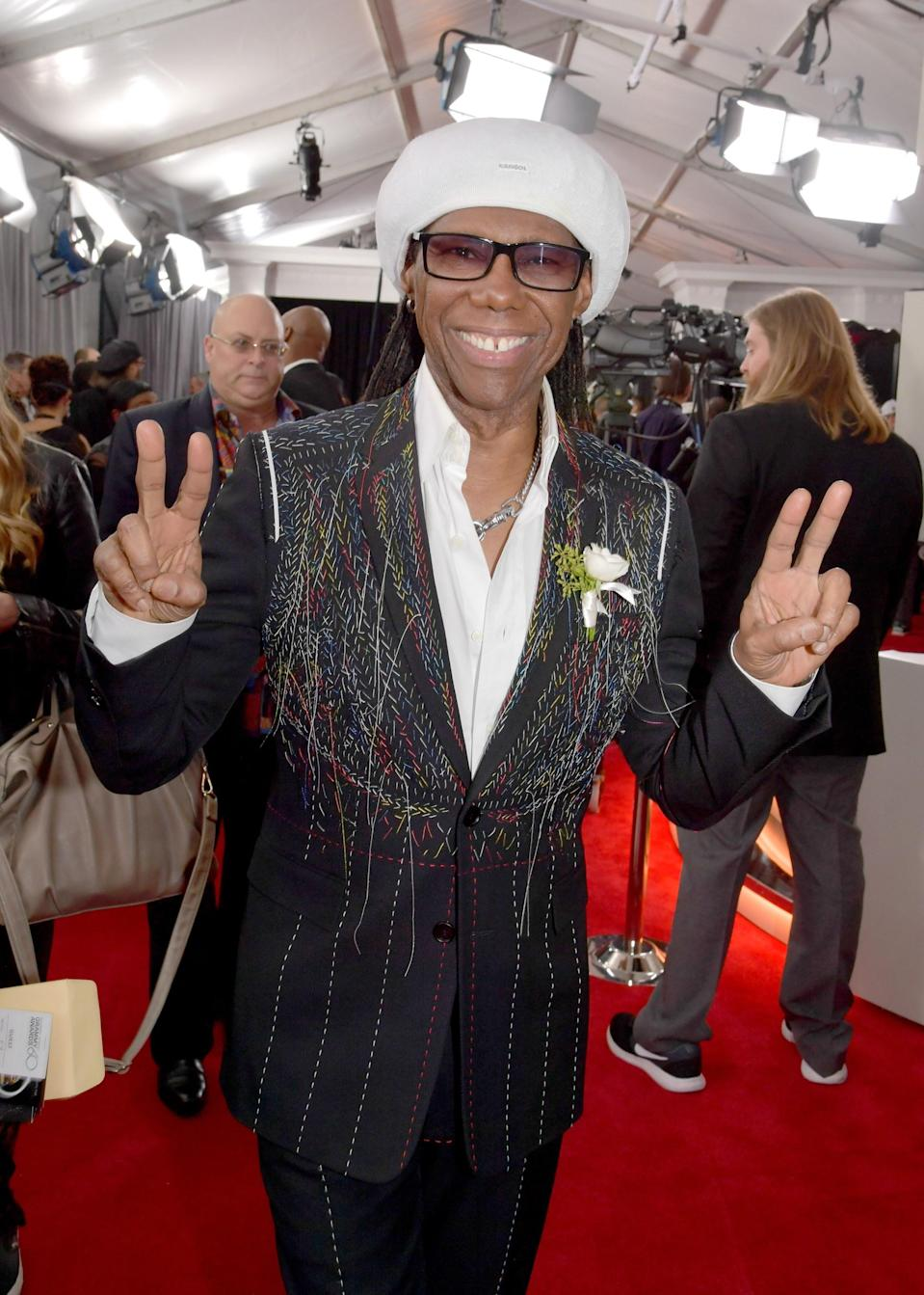 """<h1 class=""""title"""">Nile Rodgers in Dior Homme</h1><cite class=""""credit"""">Photo: Getty Images</cite>"""