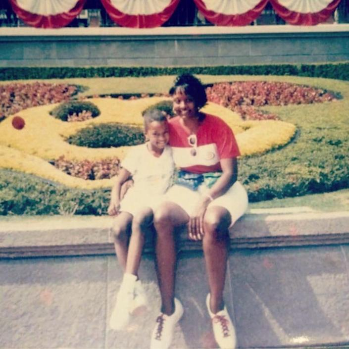 Image: Miquelle West and her mother Michelle West at Disneyworld. (Courtesy of Miquelle West)