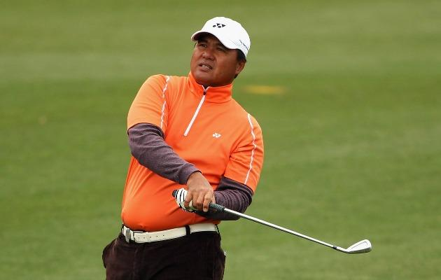 Mardan Mamat in action at the Ballantine's Championship (Getty Images)