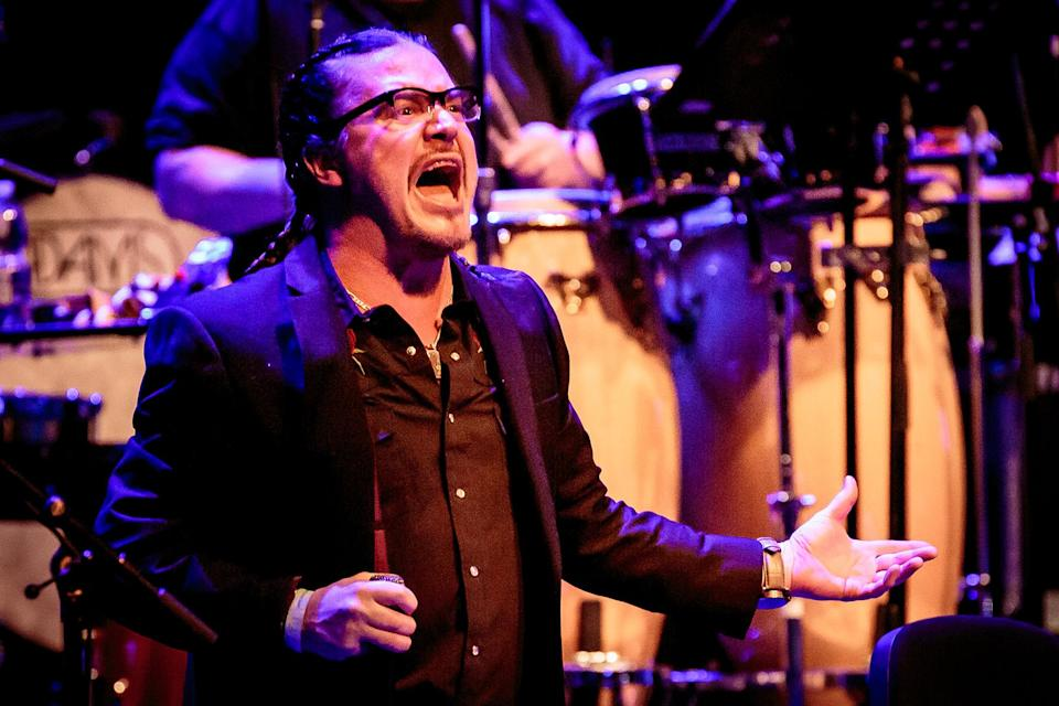 Mike Patton - Mondo Cane Performs In Milan - Credit: Sergione Infuso/Corbis/Getty Images