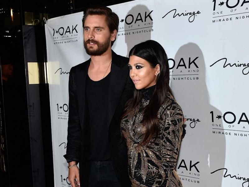 Scott and Kourtney were together for 10 years. Source: Getty