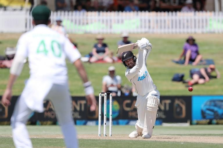 New Zealand's Tom Blundell led the Black Caps' charge
