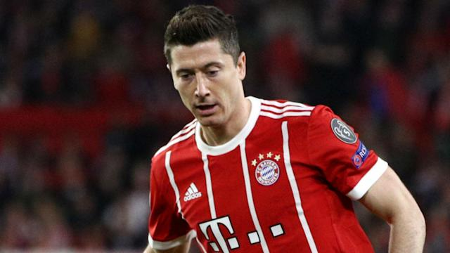 Striker Robert Lewandowski created history on Saturday by scoring his 105th Bundesliga goal for Bayern Munich.