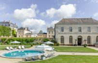 """<p>Everything is better in France—even pool passes. The breathtaking <a href=""""https://www.cntraveler.com/hotels/le-grand-luce/chateau-du-grand-luce?mbid=synd_yahoo_rss"""" rel=""""nofollow noopener"""" target=""""_blank"""" data-ylk=""""slk:Hôtel Château du Grand-Lucé"""" class=""""link rapid-noclick-resp"""">Hôtel Château du Grand-Lucé</a> (<em>rooms from 650 euro</em>) just launched a Day Pass program, which, in exchange for just 75 euro grants access to its expansive gardens and grounds. You can twirl and frolic Marie Antoinette-style through the chateau's many salons and common areas, and (best of all, for those sticky French summers), pull up a chaise and luxuriate by the hotels' iconic round swimming pool. You'll be saying, """"Chic, c'est la vie"""" in no time.</p> <p><strong>Reserve a spot</strong>: <a href=""""https://chateaugrandluce.com/product/chateau-pool-pass/"""" rel=""""nofollow noopener"""" target=""""_blank"""" data-ylk=""""slk:chateaugrandluce.com"""" class=""""link rapid-noclick-resp"""">chateaugrandluce.com</a></p>"""
