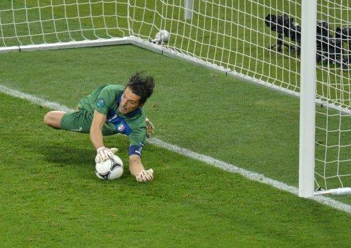 Ashley Cole scored a penalty in the Champions League final but Gianluigi Buffon saved his effort last night