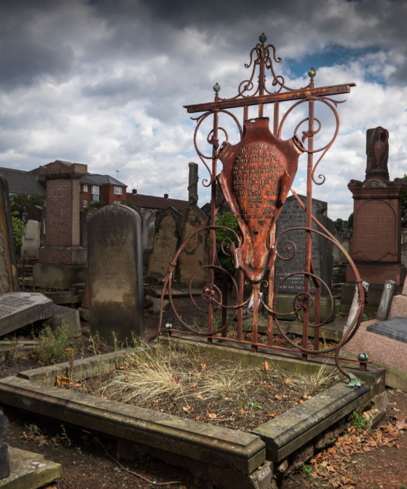 <p>The now Grade II-listed funerary buildings are based Willesden Jewish Cemetery. (PA) </p>