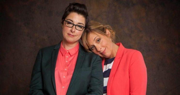 Bake off favourites Mel Giedroyc and Sue Perkins will host the comedy talent contest (Copyright: BBC)