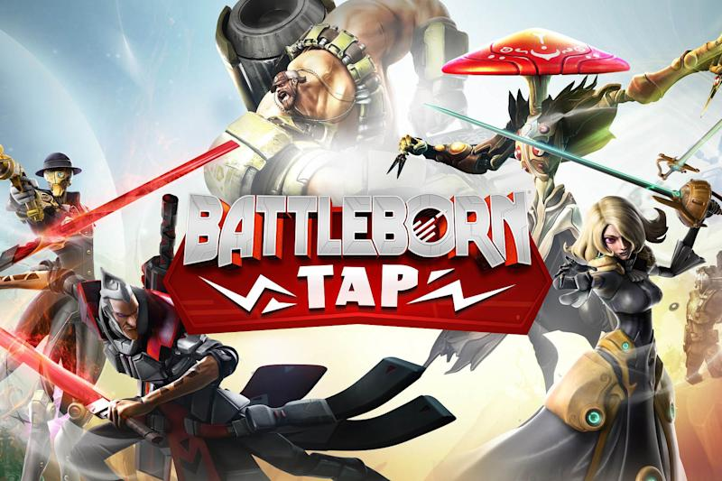 Battleborn has a free mobile companion, and it's out today
