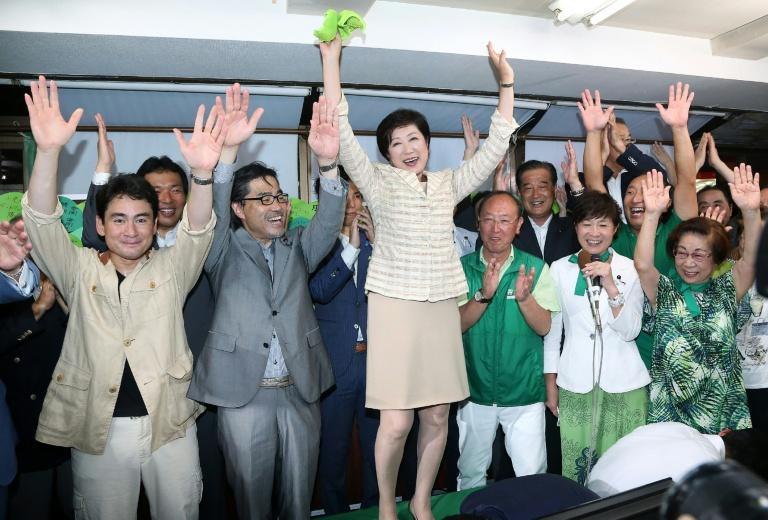 Tokyo elects first woman governor