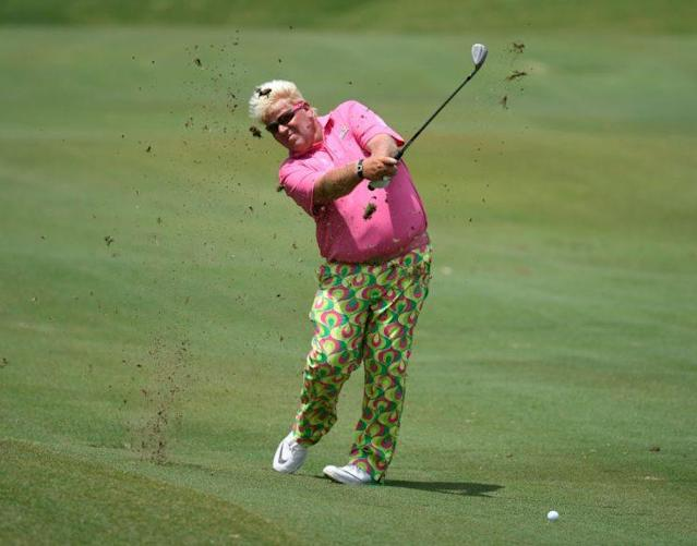 "<a class=""link rapid-noclick-resp"" href=""/pga/players/58/"" data-ylk=""slk:John Daly"">John Daly</a> is looking forward to playing at Trump National this week. (Getty Images)"