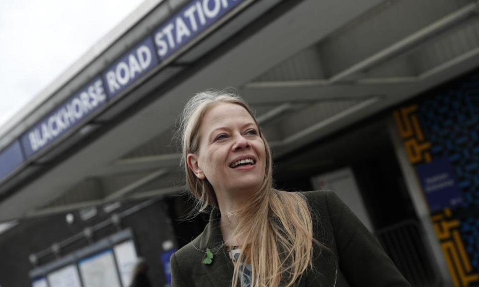 The Greens' Sian Berry. The party wants to triple London's walking and cycling budget to £400m.