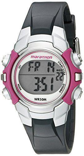 """<p><strong>Marathon by Timex</strong></p><p>amazon.com</p><p><strong>$15.88</strong></p><p><a href=""""https://www.amazon.com/dp/B008CXNW66?tag=syn-yahoo-20&ascsubtag=%5Bartid%7C10050.g.29785465%5Bsrc%7Cyahoo-us"""" rel=""""nofollow noopener"""" target=""""_blank"""" data-ylk=""""slk:Shop Now"""" class=""""link rapid-noclick-resp"""">Shop Now</a></p><p>A more sophisticated watch is in her future, but for now, this one's just-right. It's inexpensive, adjustable, and boasts great reviews.</p>"""