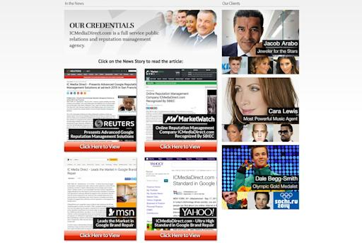 IC Media Direct -- Reputation Management -- ICMediaDirect Leads the Market of Online Reputation