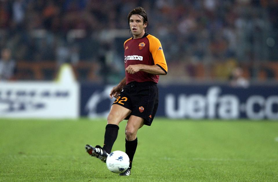 Frenchman Vincent Candela became the world's most expensive defender when he broke a six year record and signed for Roma in a deal worth £8.1 million in 1996. Roma had broken the record they had previously set in 1990 when they signed Brazilian, Aldair. Candela stayed at the club for eight years before joining Bolton Wanderers. (Credit: Getty Images)