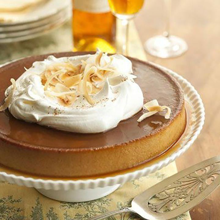 "<p>Forgo the usual pie crust and let pumpkin stand on its own. This dessert is proof that it can — <em>and</em> can do it well.</p><p><a href=""https://www.goodhousekeeping.com/food-recipes/dessert/a11184/pumpkin-creme-caramel-recipe-ghk1110/"" rel=""nofollow noopener"" target=""_blank"" data-ylk=""slk:Get the recipe for Pumpkin Crème Caramel »"" class=""link rapid-noclick-resp""><em>Get the recipe for Pumpkin Crème Caramel »</em></a></p>"