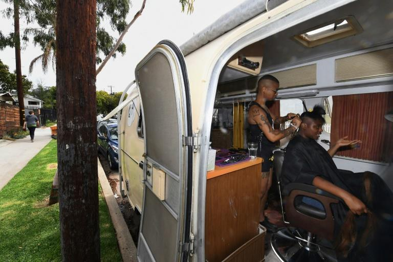 """Project Q is a mobile salon offering free haircuts to homeless """"genderqueer"""" people across Los Angeles, as well as crucial support or advice on combating bullying and developing self-esteem"""