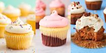 """<p>There's no denying how fun it is to bake cupcakes, and we're talking about everything from standard <a href=""""https://www.delish.com/uk/cooking/recipes/a28829469/perfect-vanilla-cupcakes-recipe/"""" rel=""""nofollow noopener"""" target=""""_blank"""" data-ylk=""""slk:Vanilla Cupcakes"""" class=""""link rapid-noclick-resp"""">Vanilla Cupcakes</a>, to delicious <a href=""""https://www.delish.com/uk/cooking/recipes/a28784289/ferrero-rocher-stuffed-cupcakes-recipe/"""" rel=""""nofollow noopener"""" target=""""_blank"""" data-ylk=""""slk:Ferrero Rocher Stuffed Cupcakes"""" class=""""link rapid-noclick-resp"""">Ferrero Rocher Stuffed Cupcakes</a> (you heard me). And so, we've rounded up our favourite cupcake recipes for you to try, but be warned! They're insanely good. </p><p>We've even thrown in some fun character cupcake ideas like <a href=""""https://www.delish.com/uk/cooking/recipes/a28826721/polar-bear-paw-cupcakes-recipe/"""" rel=""""nofollow noopener"""" target=""""_blank"""" data-ylk=""""slk:Polar Bear Paw Cupcakes"""" class=""""link rapid-noclick-resp"""">Polar Bear Paw Cupcakes</a> and <a href=""""https://www.delish.com/uk/cooking/recipes/a28783737/owl-cupcakes-recipe/"""" rel=""""nofollow noopener"""" target=""""_blank"""" data-ylk=""""slk:Owl Cupcakes"""" class=""""link rapid-noclick-resp"""">Owl Cupcakes</a> using <a href=""""https://www.delish.com/uk/cooking/recipes/g28828159/ways-to-use-oreos-recipes/"""" rel=""""nofollow noopener"""" target=""""_blank"""" data-ylk=""""slk:Oreos"""" class=""""link rapid-noclick-resp"""">Oreos</a>.</p><p>Thank us later...</p>"""