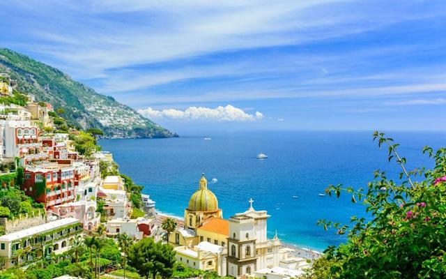 The Amalfi Coast is blessed with some of the world's most wonderful seaside scenery, from Positano (pictured) to secret fishing villages