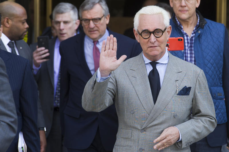 Trump Ally Roger Stone Wants His Lawyers to Have Full Mueller Report