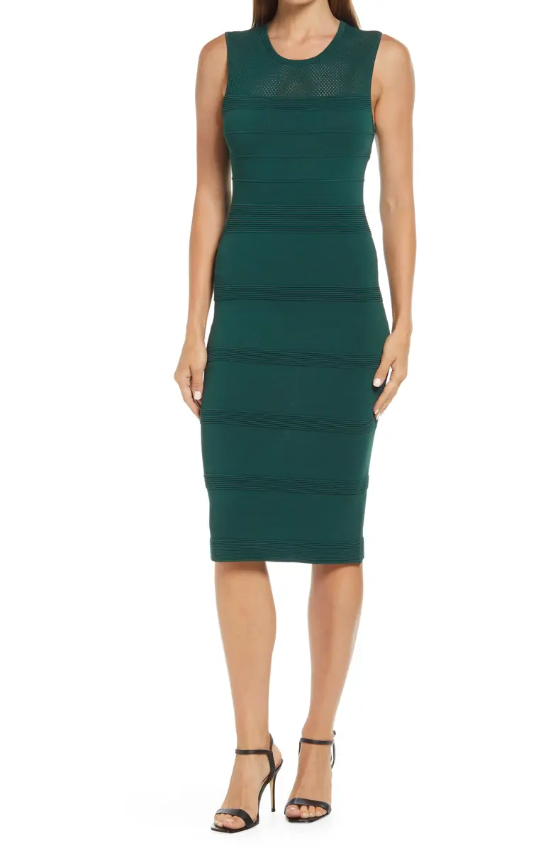 """<h2><a href=""""https://www.nordstrom.com/brands/vince-camuto--3839"""" rel=""""nofollow noopener"""" target=""""_blank"""" data-ylk=""""slk:Up to 51% off Vince Camuto"""" class=""""link rapid-noclick-resp"""">Up to 51% off Vince Camuto</a></h2><br><br><strong>Vince Camuto</strong> Sleeveless Knit Dress, $, available at <a href=""""https://go.skimresources.com/?id=30283X879131&url=https%3A%2F%2Fwww.nordstrom.com%2Fs%2Fvince-camuto-sleeveless-knit-dress%2F5922037"""" rel=""""nofollow noopener"""" target=""""_blank"""" data-ylk=""""slk:Nordstrom"""" class=""""link rapid-noclick-resp"""">Nordstrom</a>"""