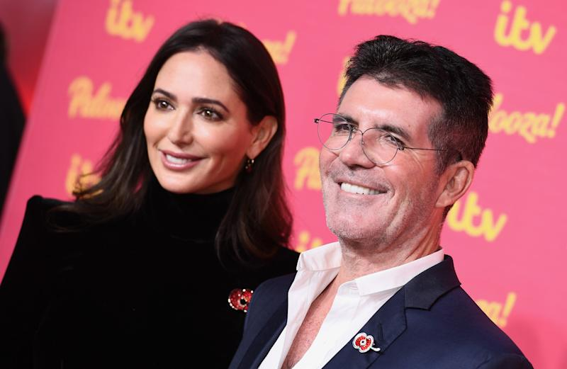 LONDON, ENGLAND - NOVEMBER 12: Simon Cowell and Lauren Silverman attends the ITV Palooza 2019 at the Royal Festival Hall on November 12, 2019 in London, England. (Photo by Jeff Spicer/Getty Images)