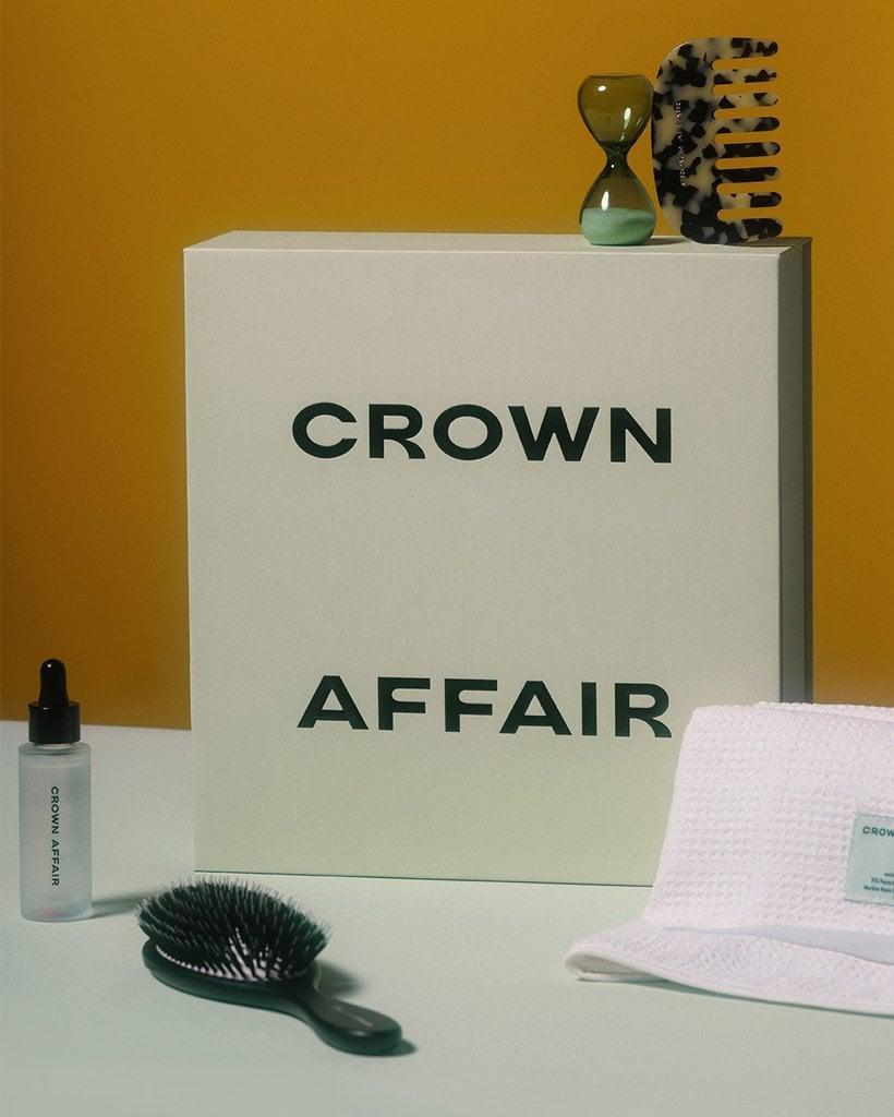 """<p>""""For anyone who takes their hair care seriously, <span>Crown Affair The Set</span> ($220) is a must-have. It features everything you'd need for an indulgent, healthy hair routine, including a comb, brush, towel, scrunchie, oil, and even an hourglass timer."""" - SN</p>"""