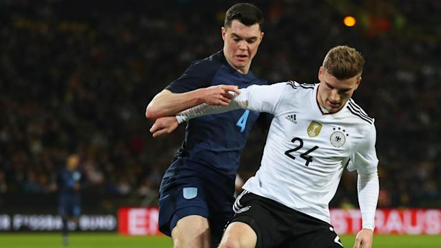 """The Burnley defender, who made his England debut Wednesday, felt he had """"a point to prove"""" when he was allowed to leave by the Red Devils"""