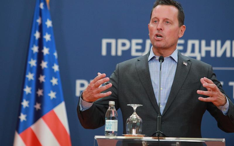 Richard Grenell, special envoy for Kosovo and Serbia - Getty