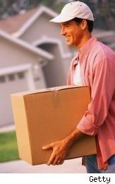 mover with box