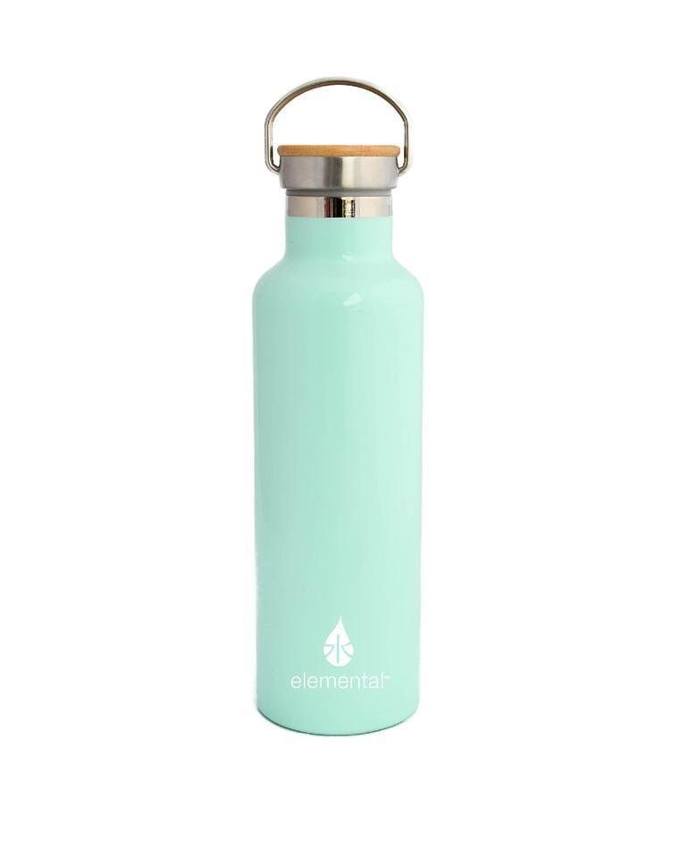 <p>This particular color (Robin's Egg Blue) is a looker, but there are plenty more to choose from with this <span>Elemental Classic Water Bottle</span> ($35). There's a useful handle on the top that makes it easy to carry and its slim fit allows it to fit into virtually any cup holder. </p>