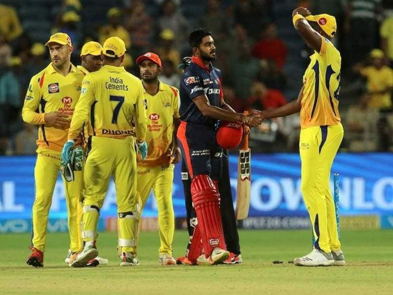 Tamil Nadu's Vijay Shankar played only one game for CSK