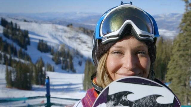 Olympic slopestyle gold medalist Jamie Anderson trains with the idea of keeping her child-like love of snowboarding alive.
