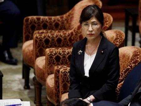 Japan's Defense Minister Inada attends a lower house budget committee session at the parliament in Tokyo