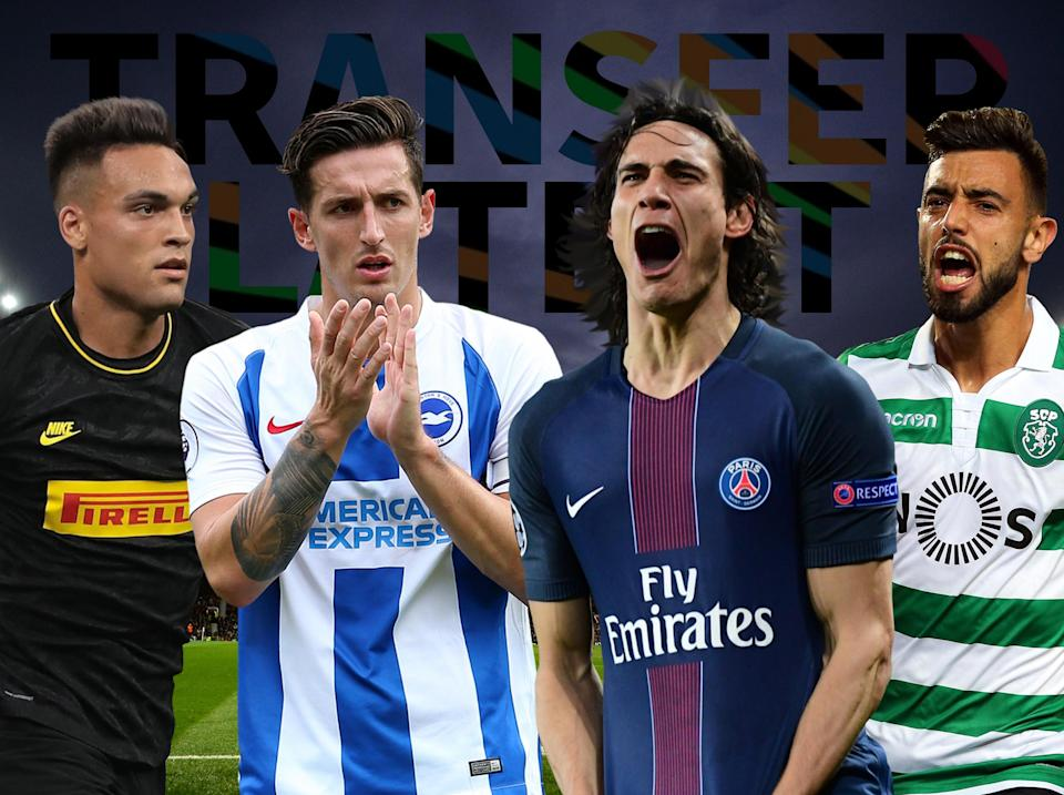 Keep up to date with Monday's transfer news and rumours: Getty