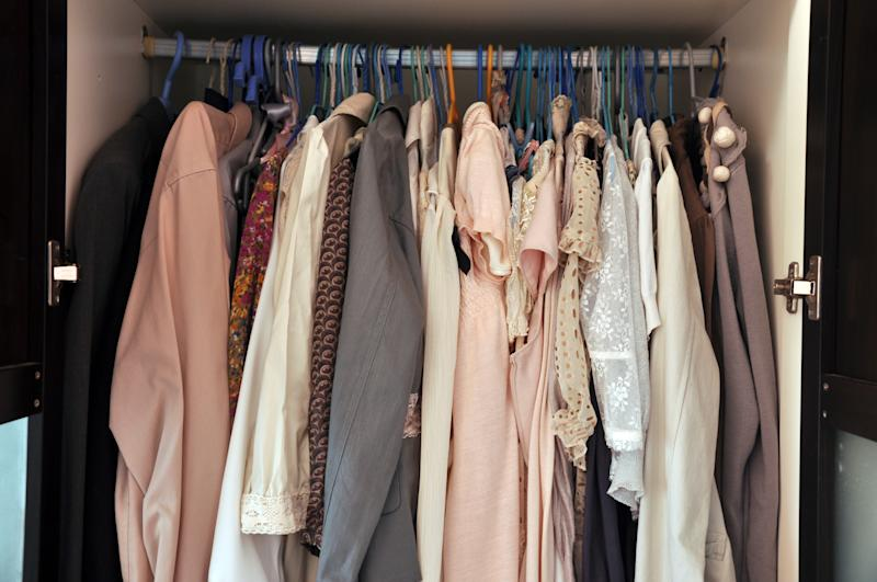 Wardrobe groaning at the seams? This TikTok hack could help. (Getty Images)